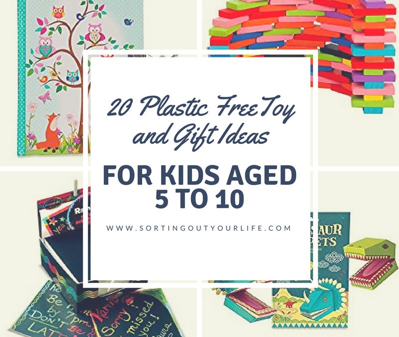 20 Plastic Free Toy and Gift Ideas for Kids Age 5 to 12