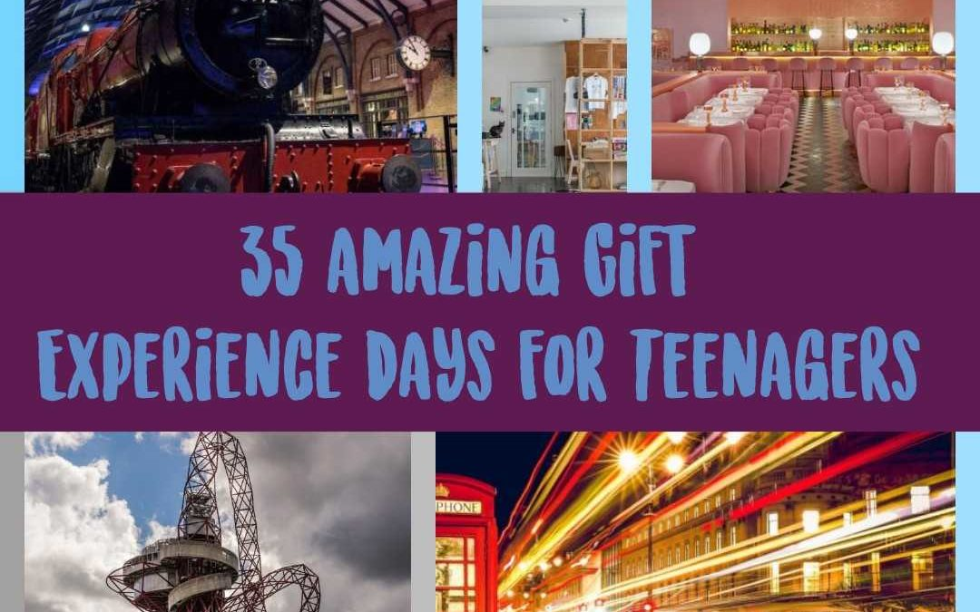 35 Experience Days for Teenagers – The Ultimate Guide